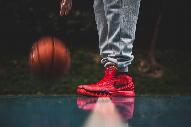 Nike Kyrie 1 Deceptive Red 1