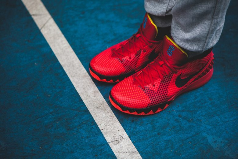 Nike Kyrie 1 Deceptive Red 3
