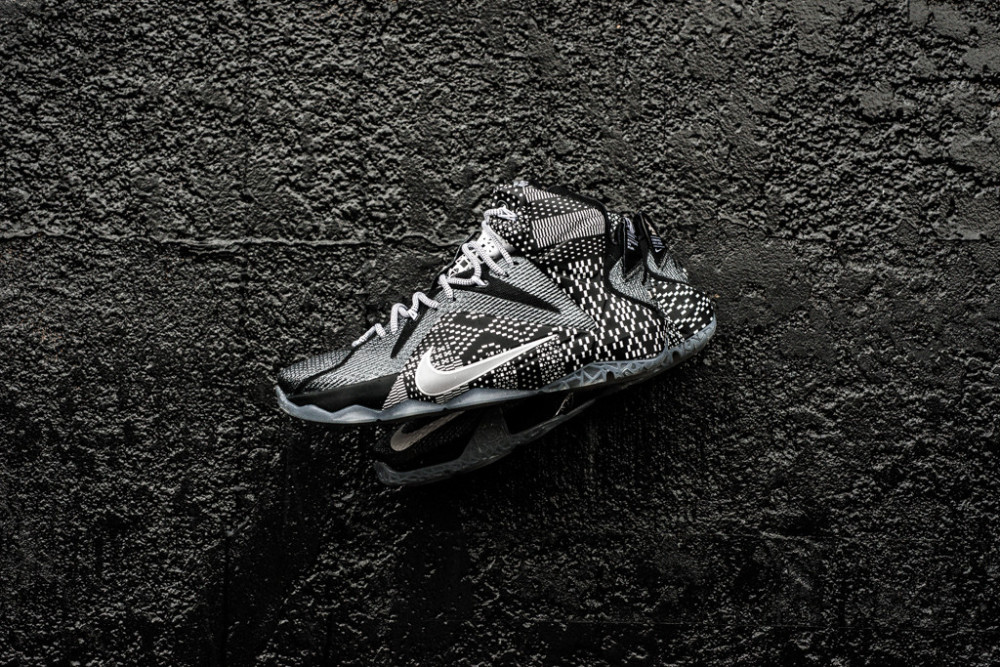 Nike LeBron 12 BHM Black History Month 1 1000x667