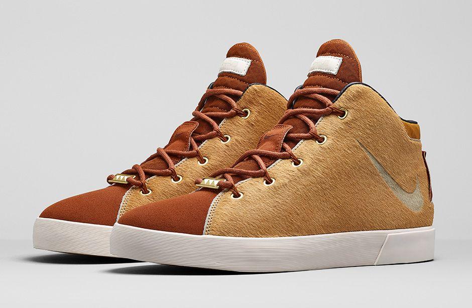 Nike LeBron 12 Lifestyle Camel Hazelnut 1