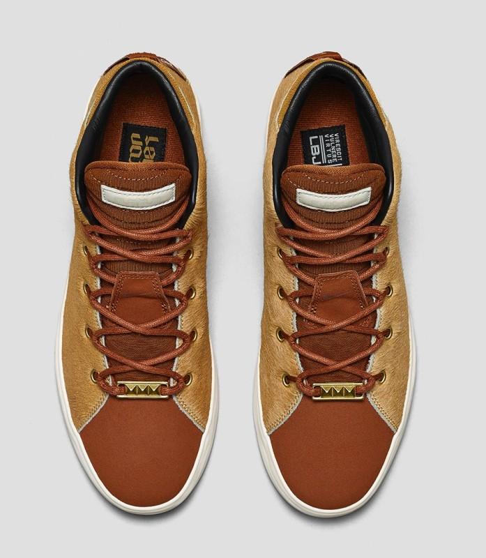Nike LeBron 12 Lifestyle Camel Hazelnut 3 697x800