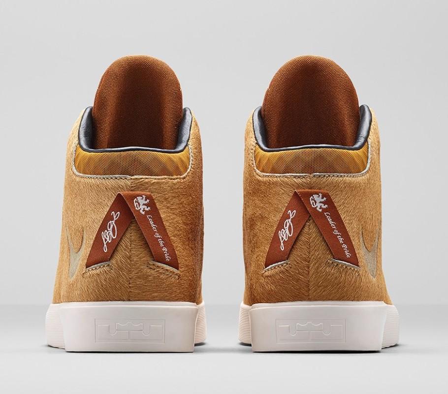 Nike LeBron 12 Lifestyle Camel Hazelnut 4 910x800