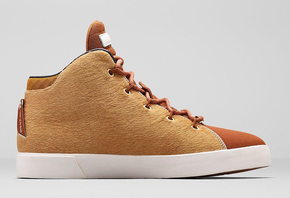 Nike LeBron 12 Lifestyle Camel Hazelnut 5