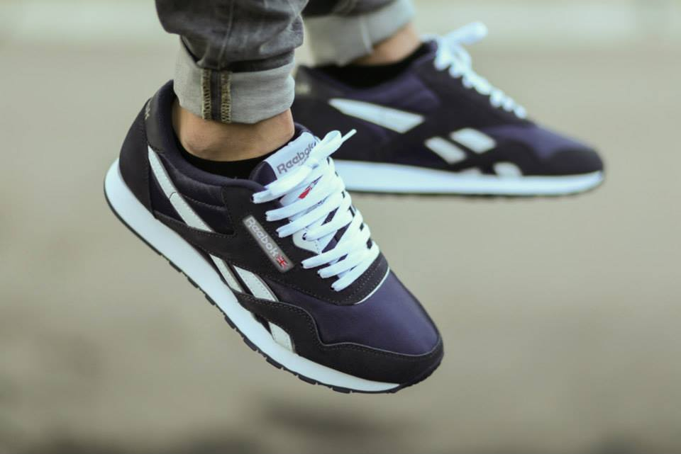 Reebok Classic Nylon Team Navy 1