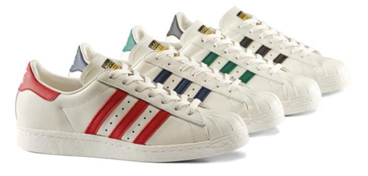 adidas Originals Superstar Vintage Deluxe Lässige Schuhe Für