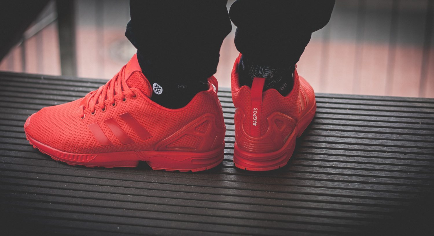 adidas Originals ZX FLUX All Red Review 1 2