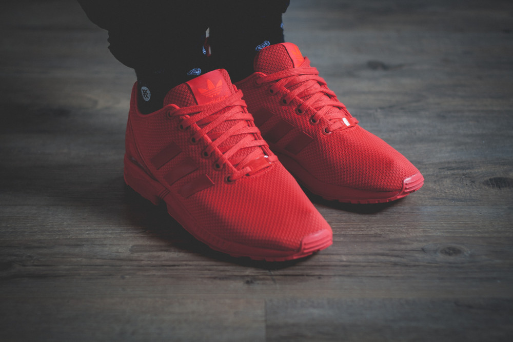 adidas Originals ZX FLUX All Red Review 2 1000x667