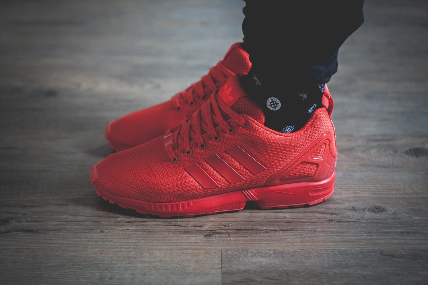 adidas originals zx flux all red review seite 2. Black Bedroom Furniture Sets. Home Design Ideas