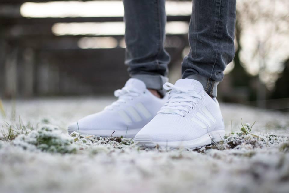 adidas Originals ZX FLUX All White 3