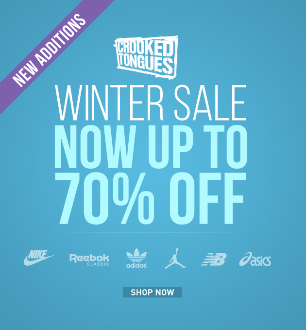 crooked tongues winter sale