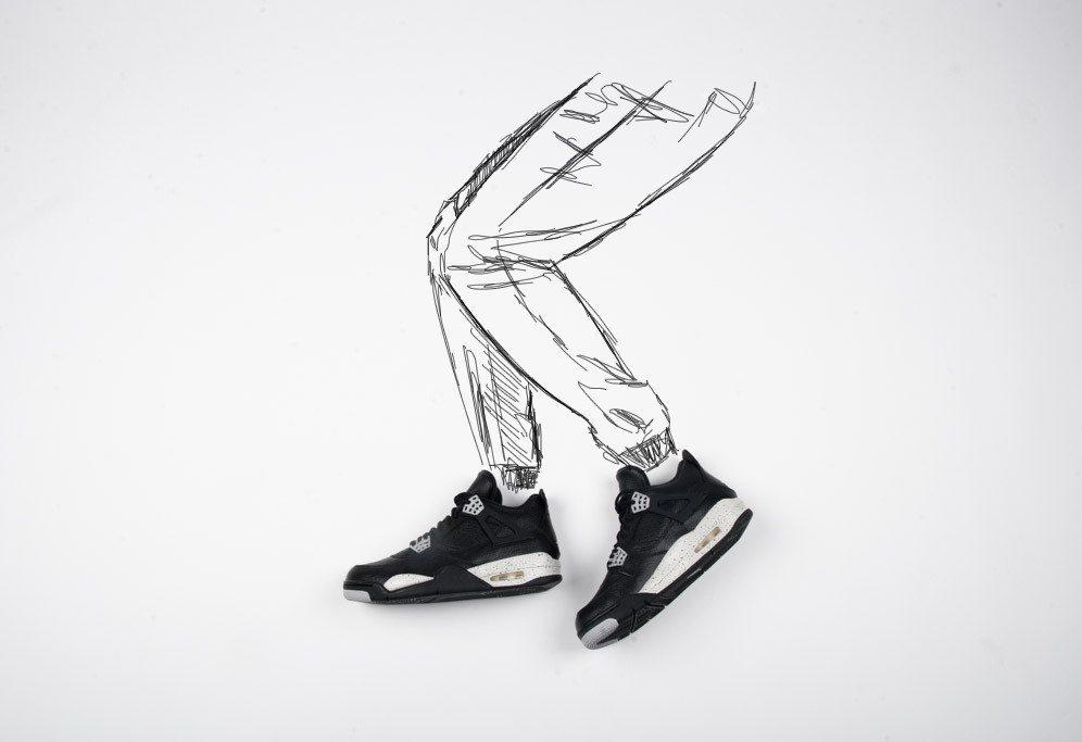 Air Jordan 4 Retro Tech Grey 1