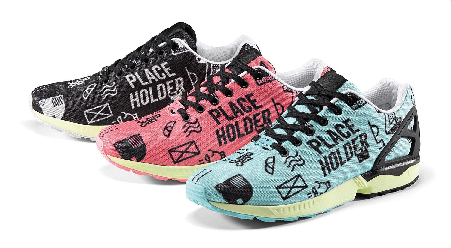adidas Originals ZX FLUX Placeholder Graphic Pack 3