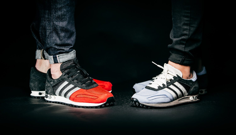 Adidas Originals La Trainer All Black buc it
