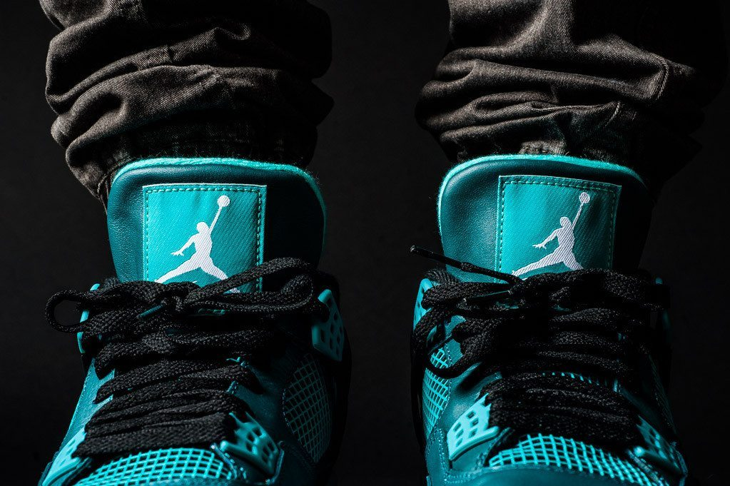 Air Jordan 4 Retro Teal 5