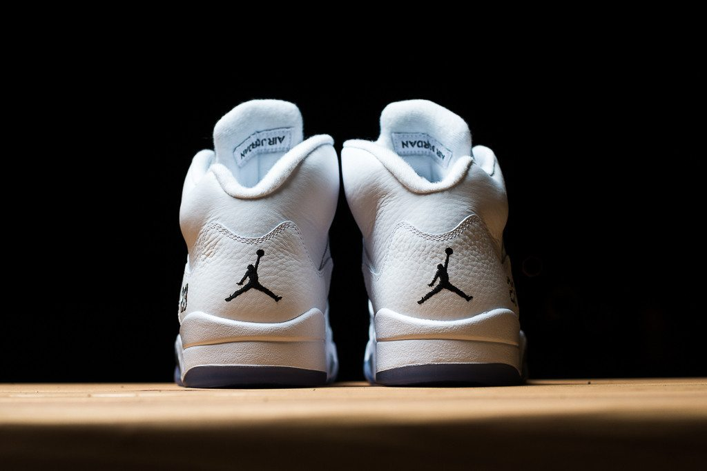 Air Jordan 5 Retro Metallic Silver 4