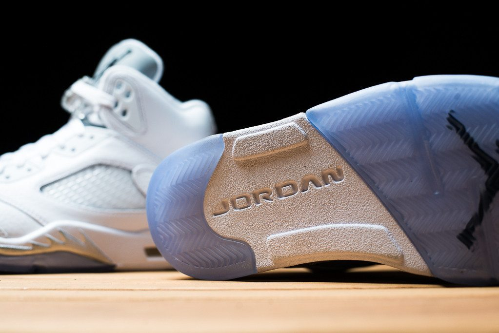 Air Jordan 5 Retro Metallic Silver 6