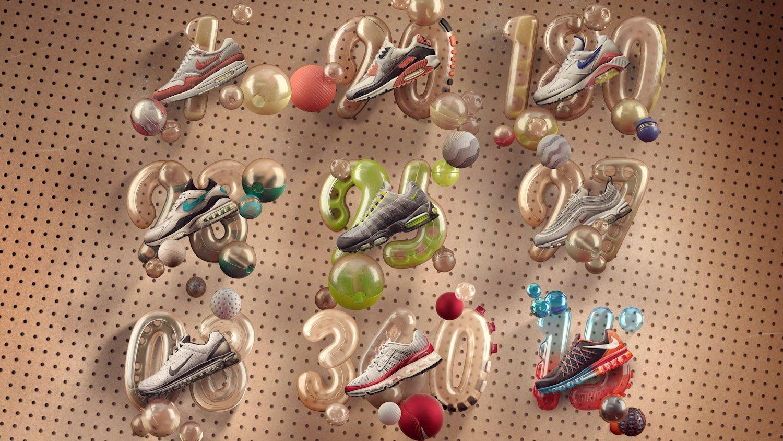 Nike präsentiert Die Nike Air Max Icons 9