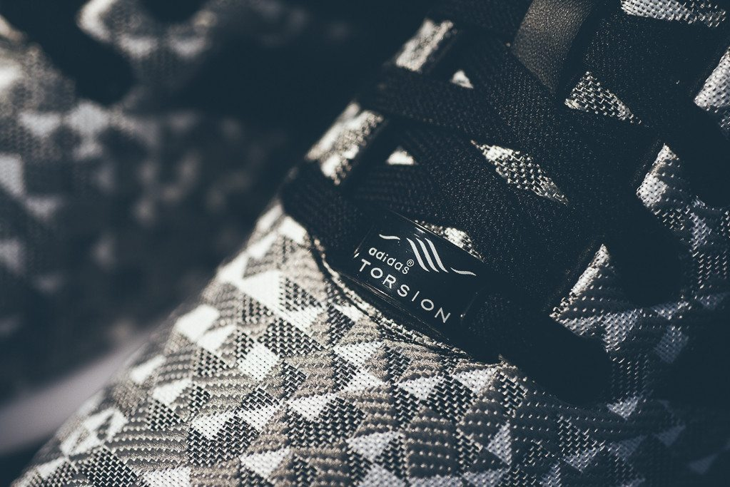 adidas Originals ZX FLUX Weave Grey Black 3