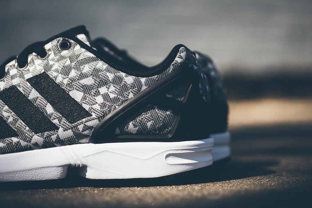 adidas Originals ZX FLUX Weave Grey Black 5