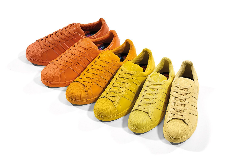 adidas Originals x Pharrell Williams Superstar Supercolor Pack 3