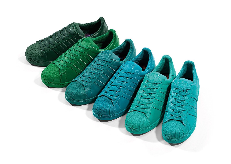 adidas Originals x Pharrell Williams Superstar Supercolor Pack 5