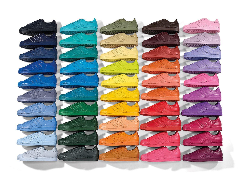 adidas Originals x Pharrell Williams Superstar Supercolor Pack 6