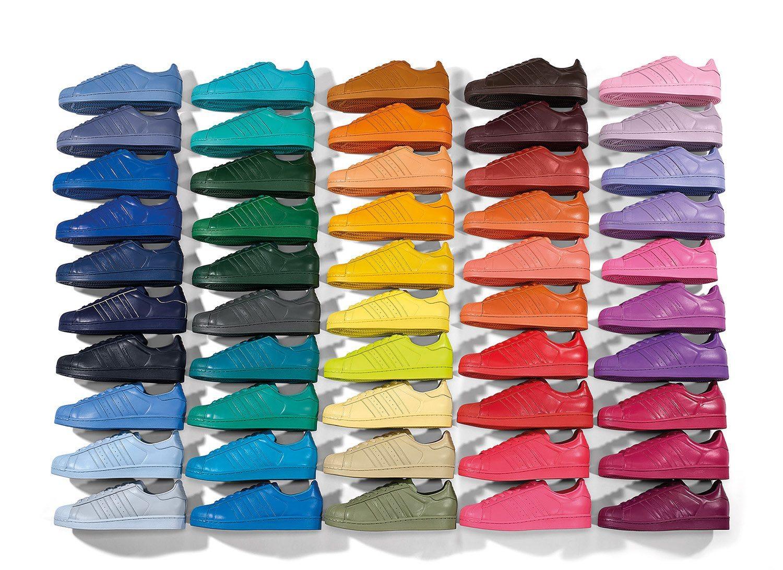 adidas Originals x Pharrell Williams Superstar Supercolor Pack 7