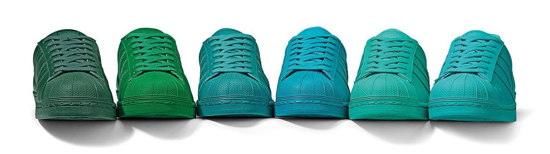 adidas Originals x Pharrell Williams Superstar Supercolor Pack 9