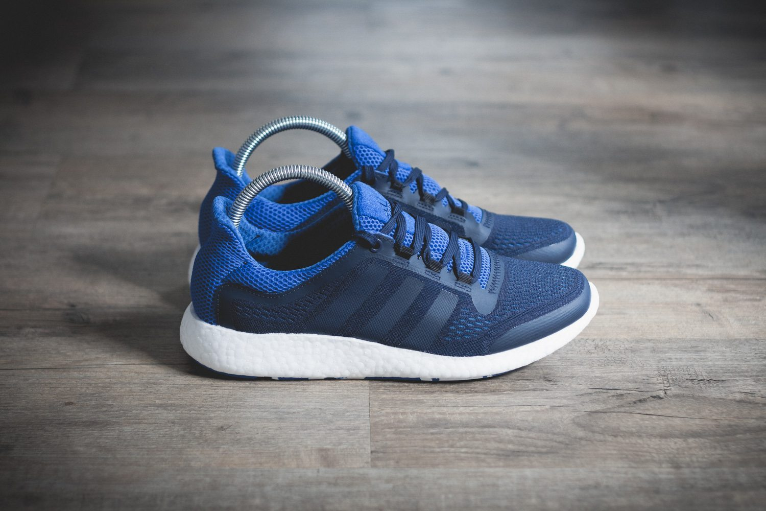 adidas Pure Boost Chill Blue White Review 1