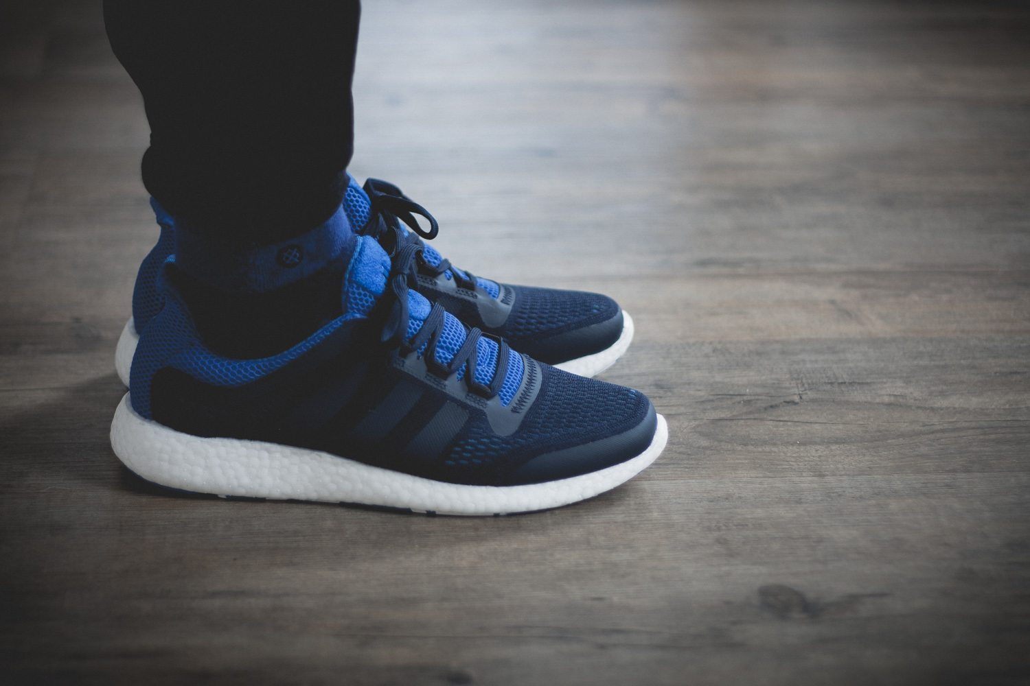 adidas Pure Boost Chill Blue White Review 14