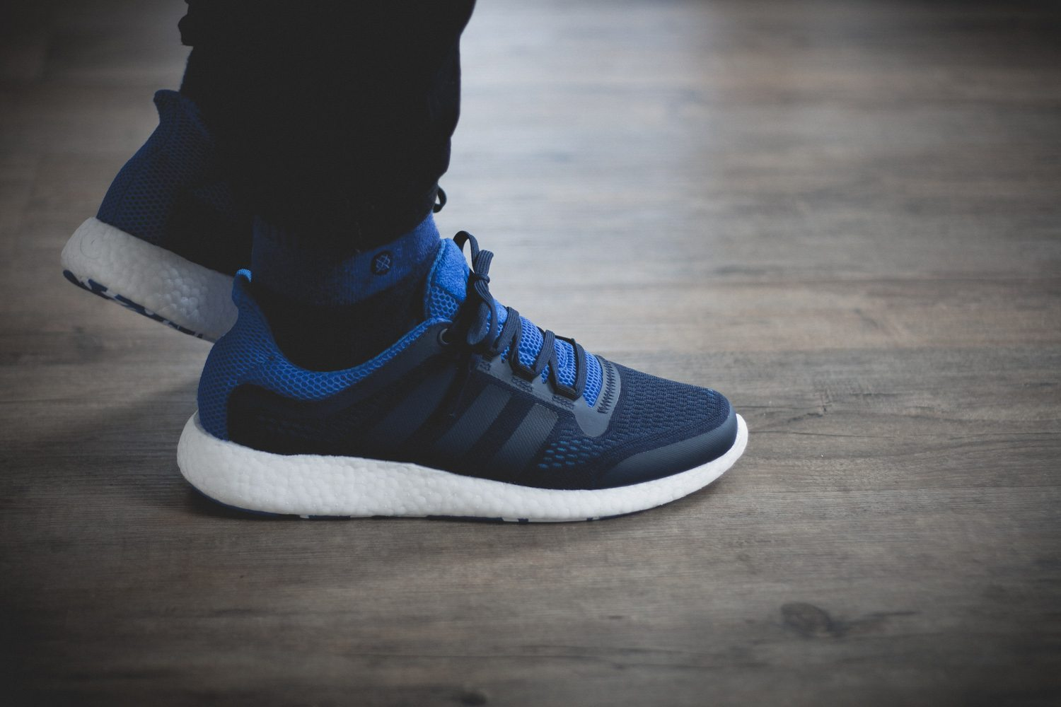 adidas Pure Boost Chill Blue White Review 15