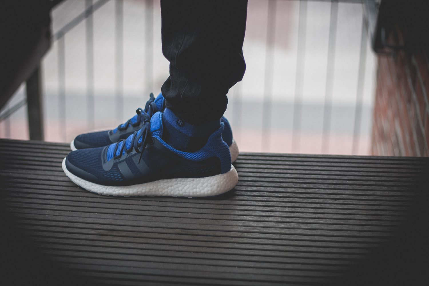adidas Pure Boost Chill Blue White Review 16