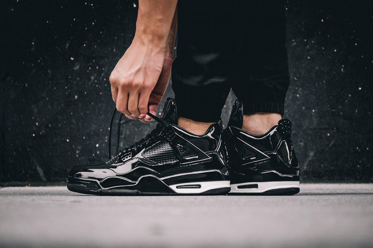 Air Jordan 11Lab4 Black 1