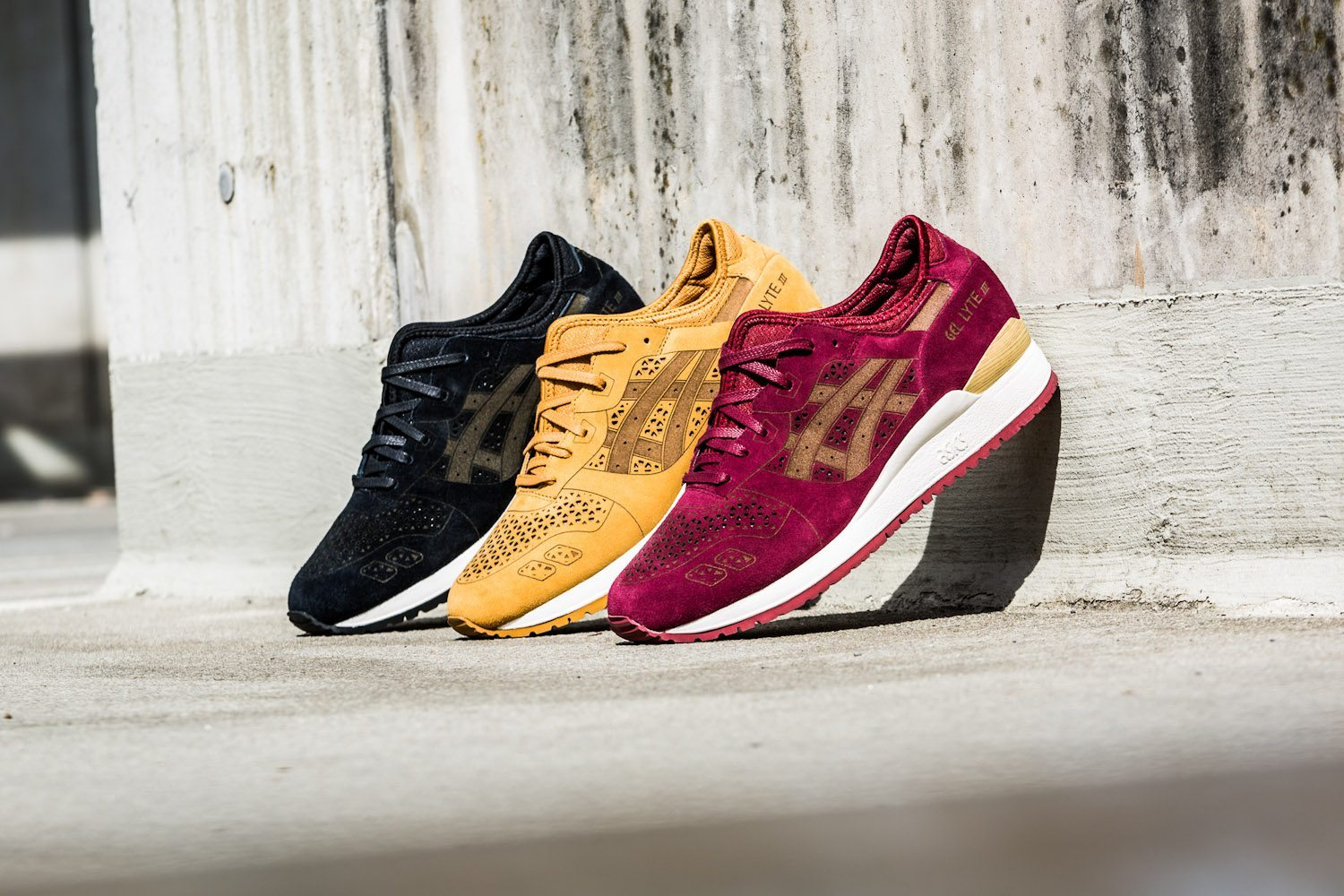 Asics Gel Lyte III Laser Cut Pack 1