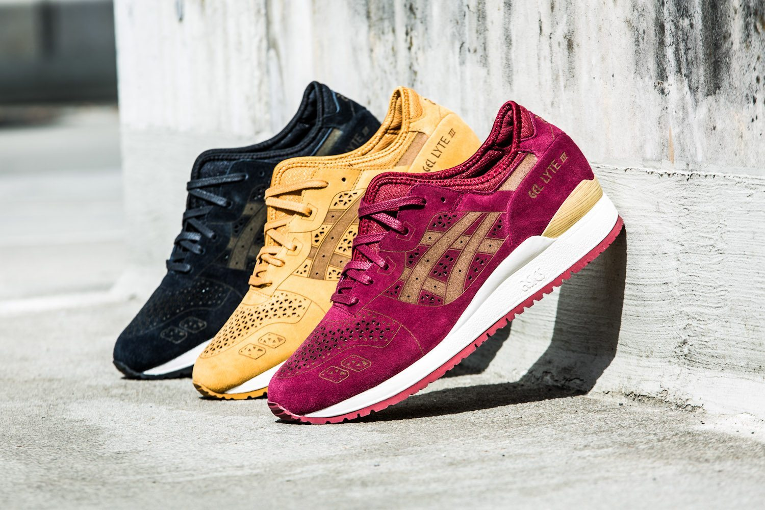 Asics Gel Lyte III Laser Cut Pack 2