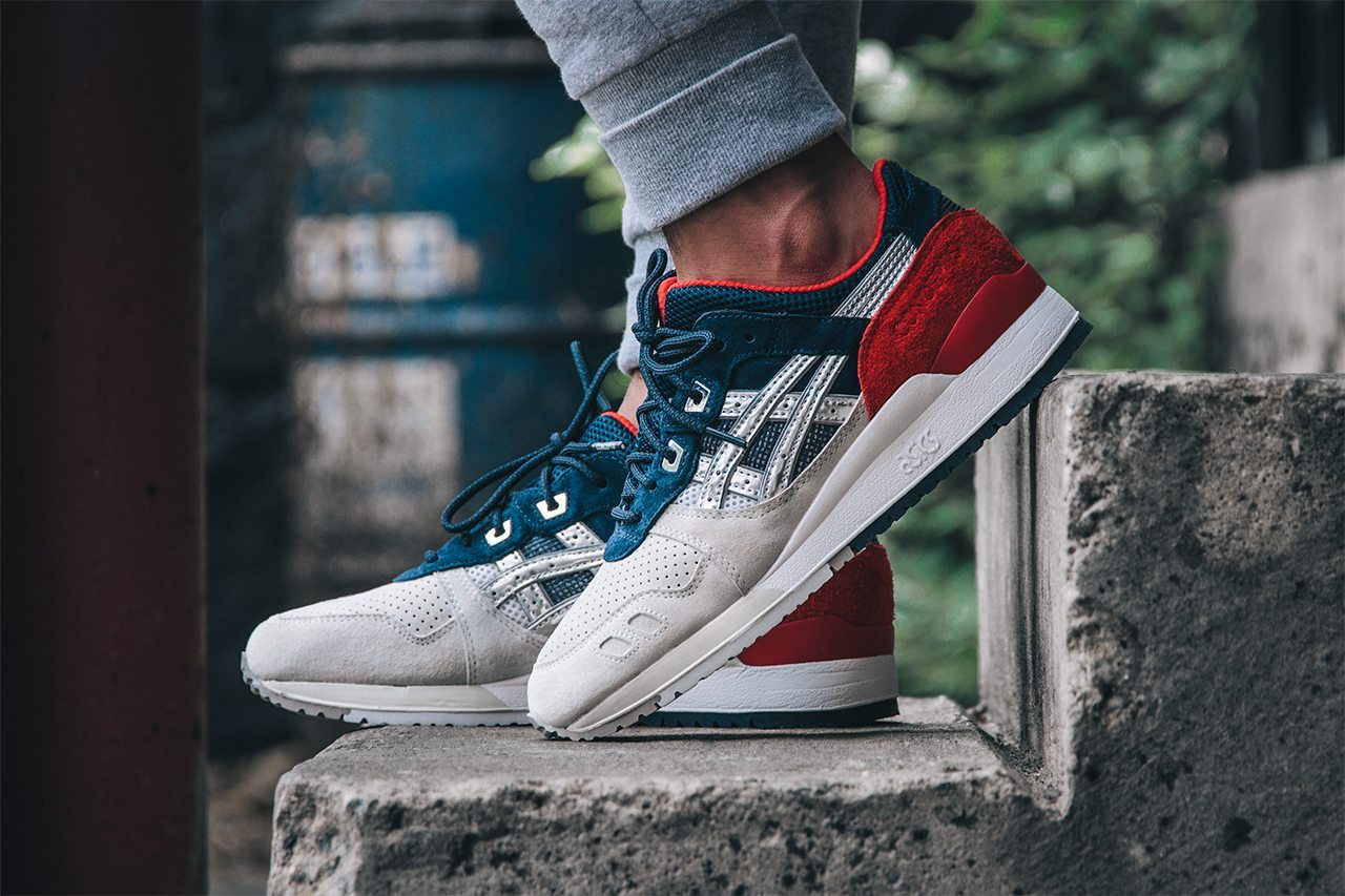 Concepts x ASICS Gel Lyte III Boston Tea Party 1