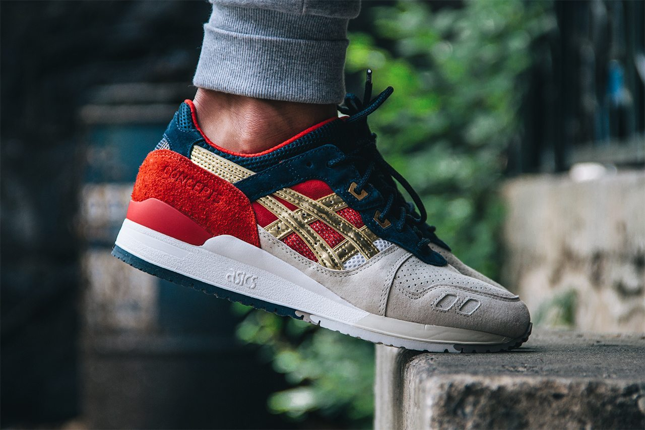 Concepts x ASICS Gel Lyte III Boston Tea Party 2