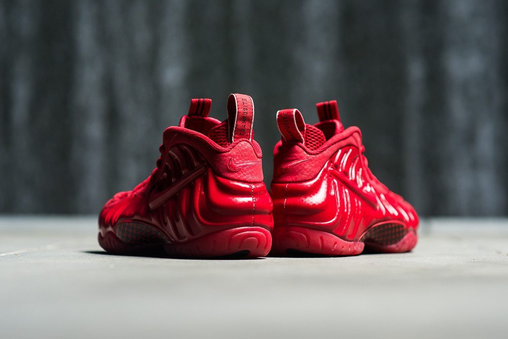 Nike Air Foamposite One Gym Red 2