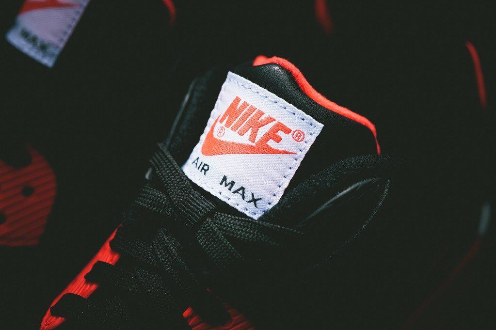 Nike Air Max 90 Anniversary Infrared Croc 2
