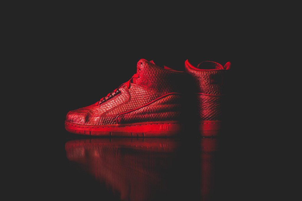 Nike Air Python PRM Gym Red 1