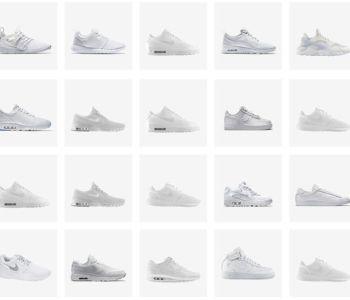 Nike All White Pack 350x300