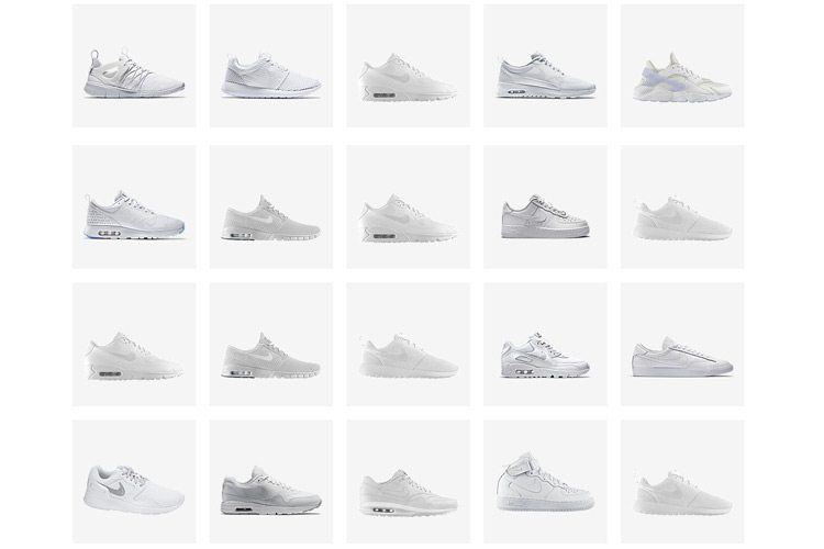 Nike All White Pack