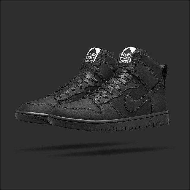 Nike Dunk Lux High x DSM Black