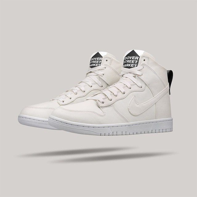 Nike Dunk Lux High x DSM White