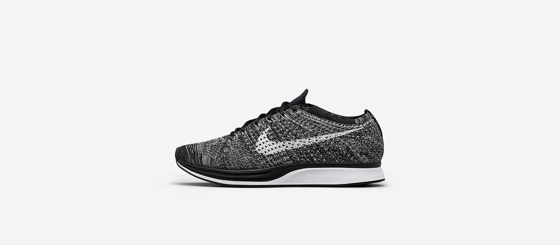 Nike Flyknit Racer Oreo 526628 012