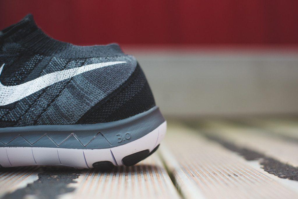 Nike Free Flyknit 3.0 Black 4