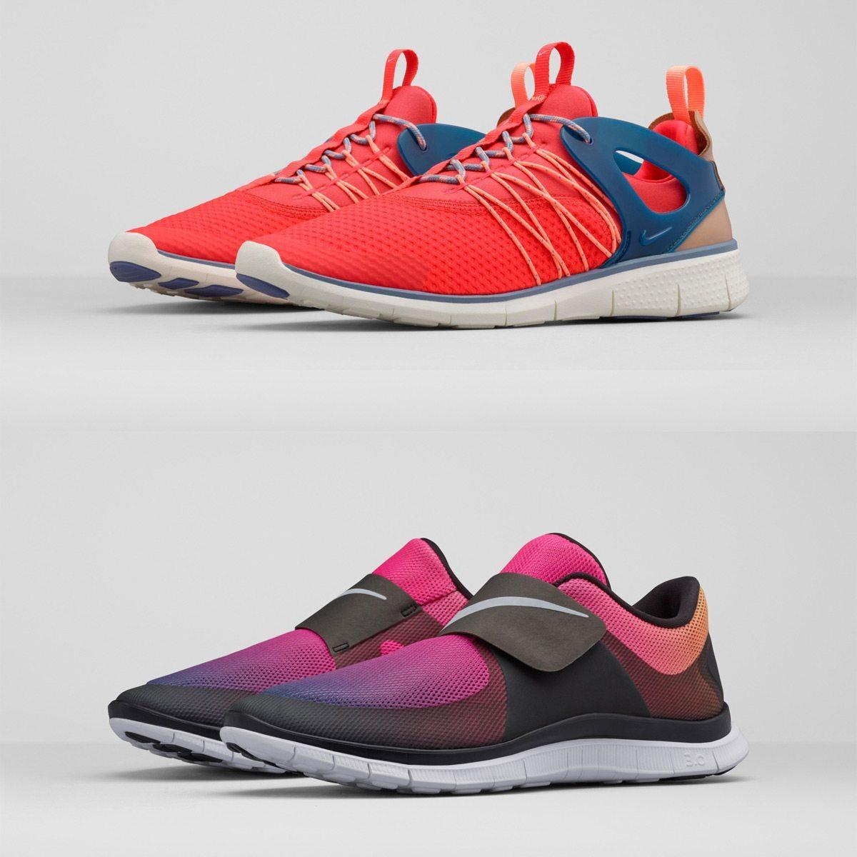 Nike Free Viritous Nike Free Socfly 14