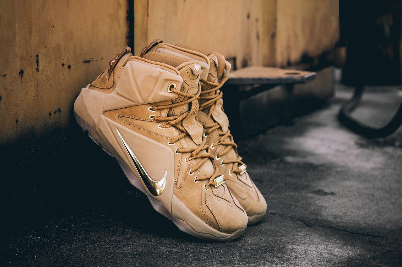 Nike Lebron XII EXT Wheat 1