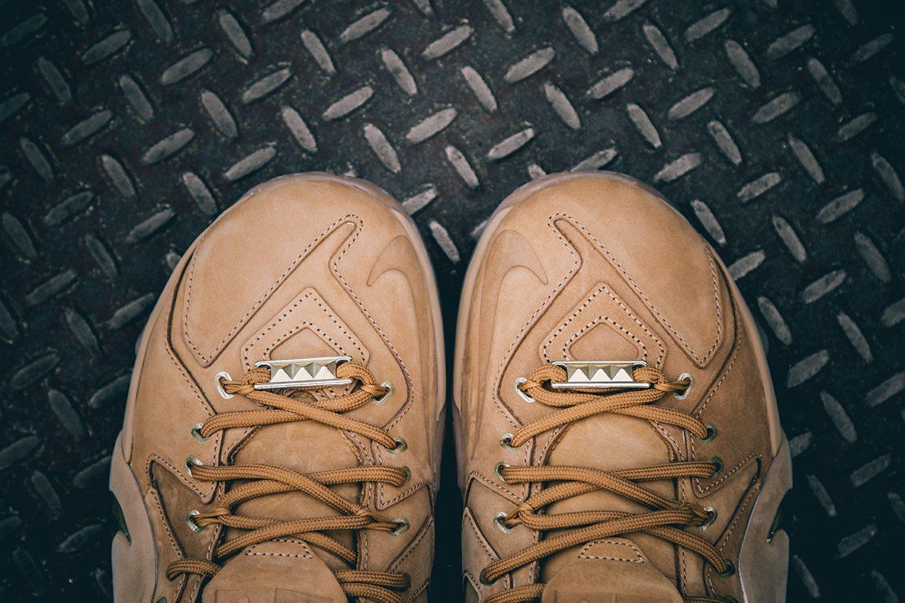 Nike Lebron XII EXT Wheat 2