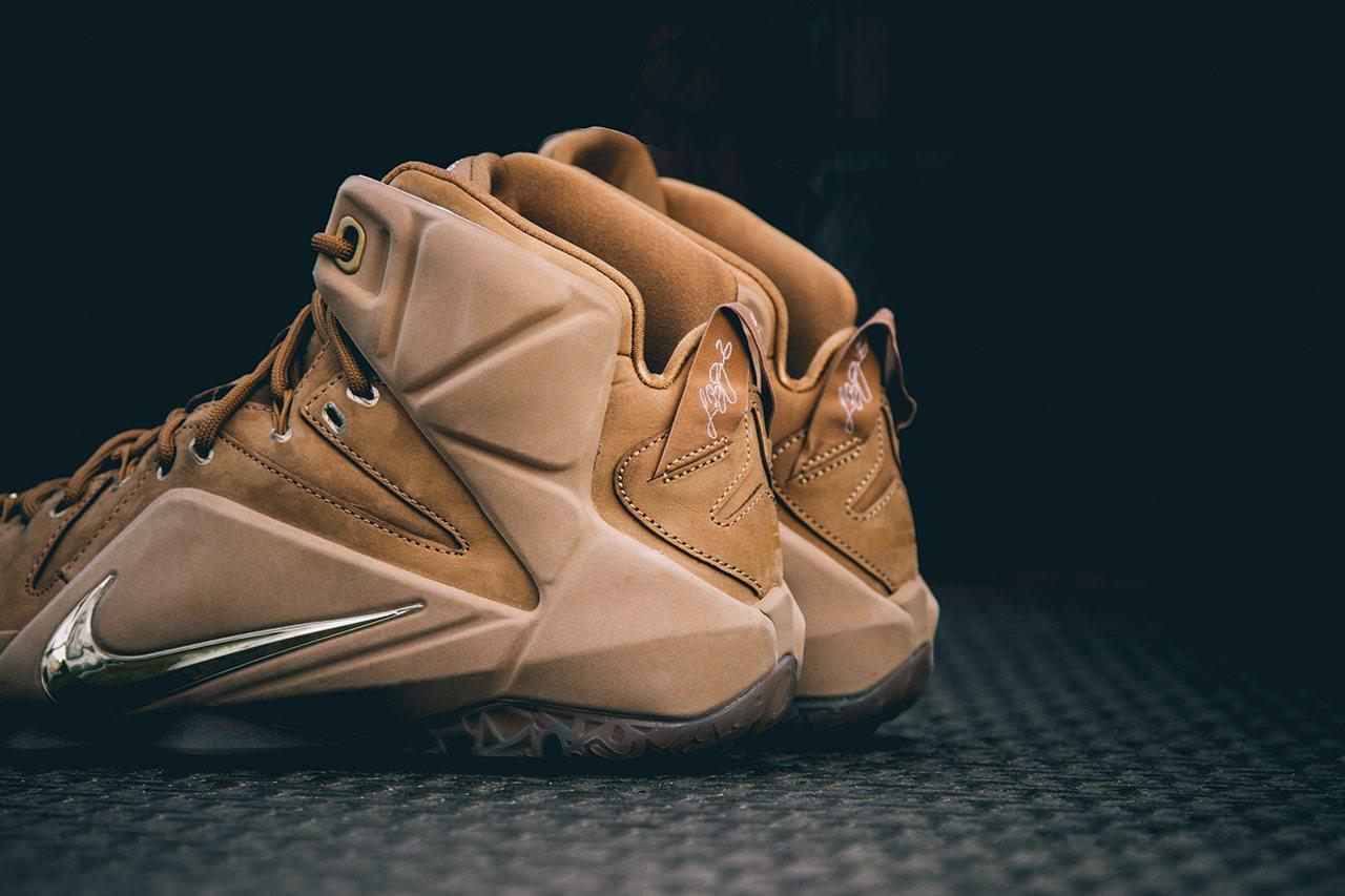 Nike Lebron XII EXT Wheat 4